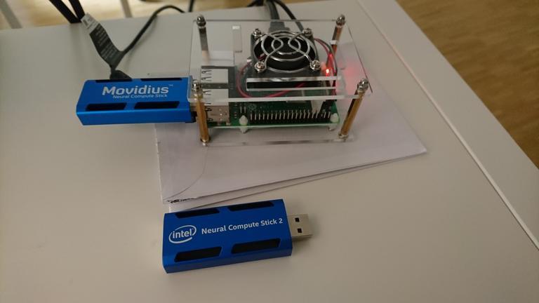 Trying out Intel's Neural Compute Stick • Martin Geissmann